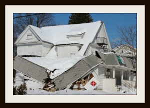 snow collapse on roof