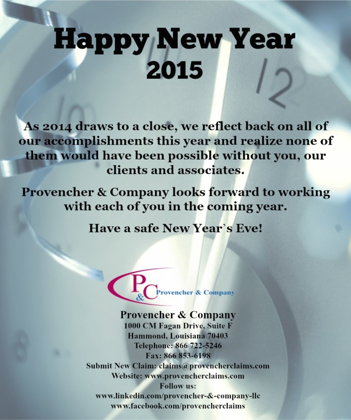 Provencher New Year 2015
